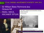 coal smoke abatement society 1899 2011