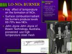 lo nox burner