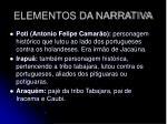 elementos da narrativa1