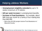 helping jobless workers
