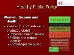 healthy public policy21