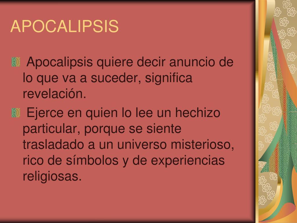 apocalipsis l.