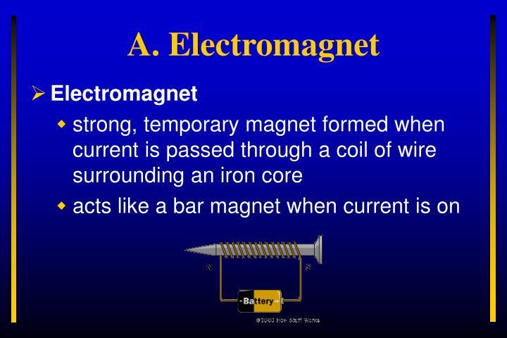 A electromagnet