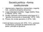societ politica forma costituzionale
