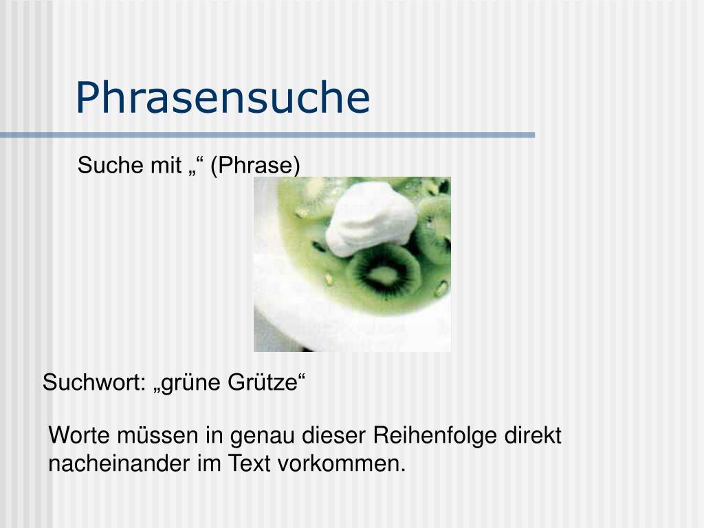 Phrasensuche