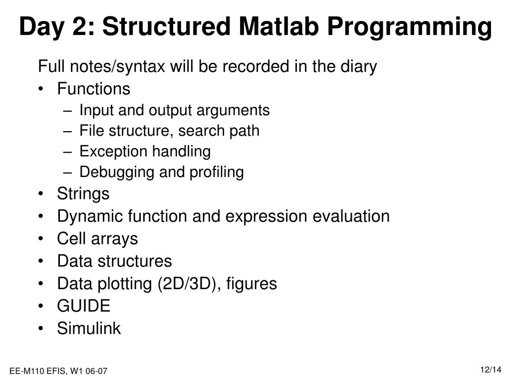 PPT - Introduction to Matlab and Simulink PowerPoint Presentation