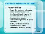 linfoma prim rio do snc37