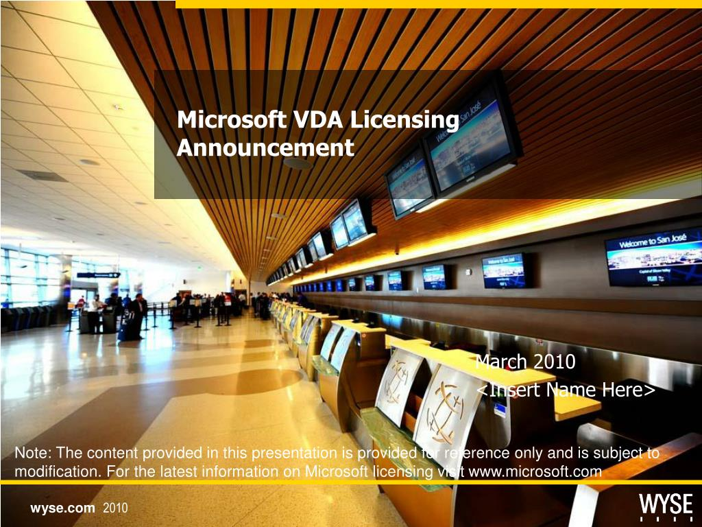 microsoft vda licensing announcement l.