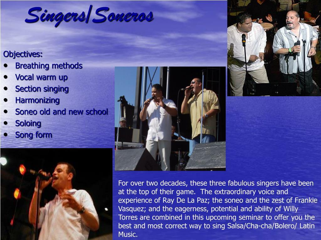 Singers/Soneros