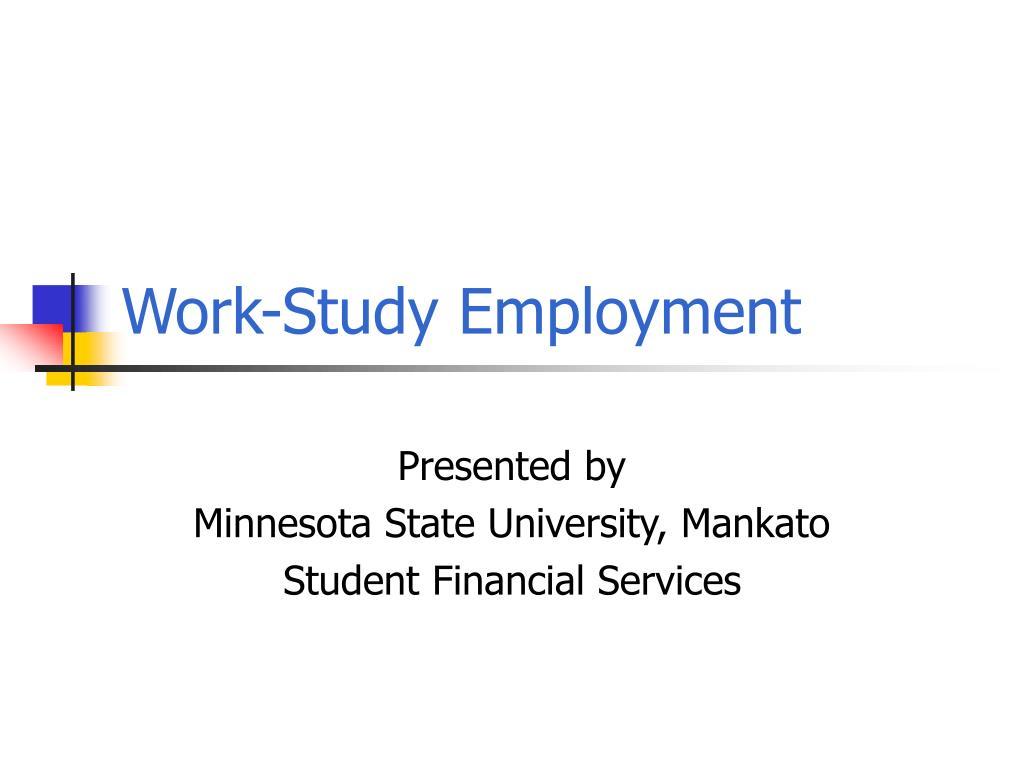 work study employment l.