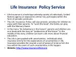 life insurance policy service4
