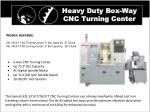 heavy duty box way cnc turning center