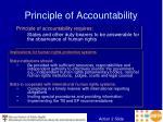 principle of accountability