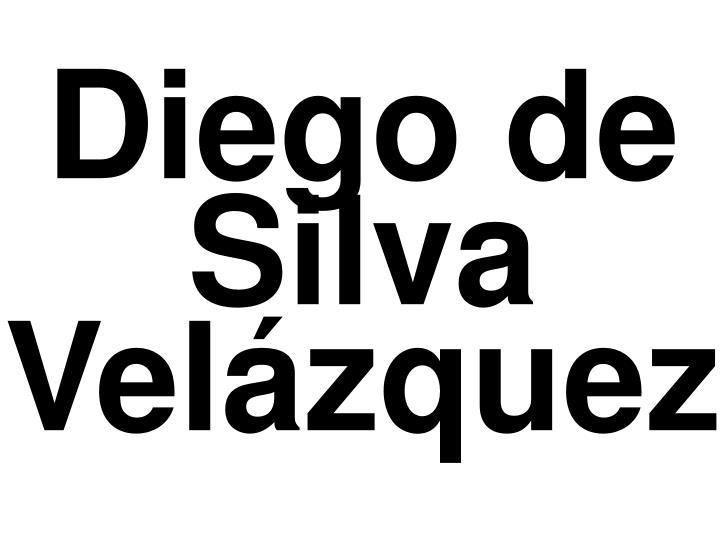 Diego de silva vel zquez