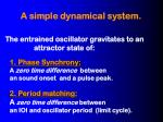 a simple dynamical system