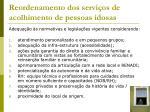reordenamento dos servi os de acolhimento de pessoas idosas