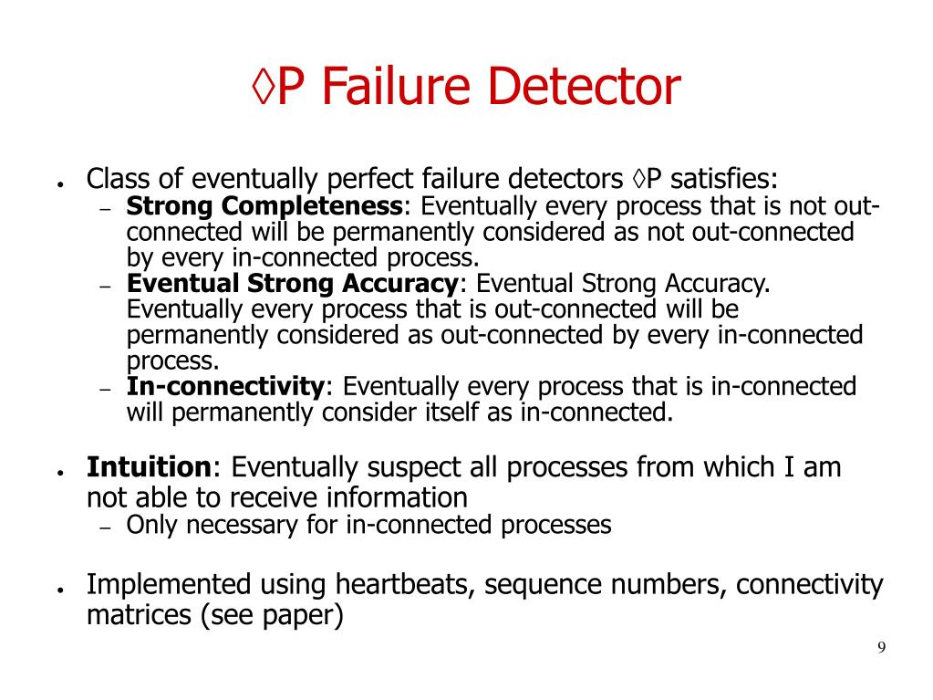 P Failure Detector