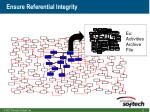 ensure referential integrity