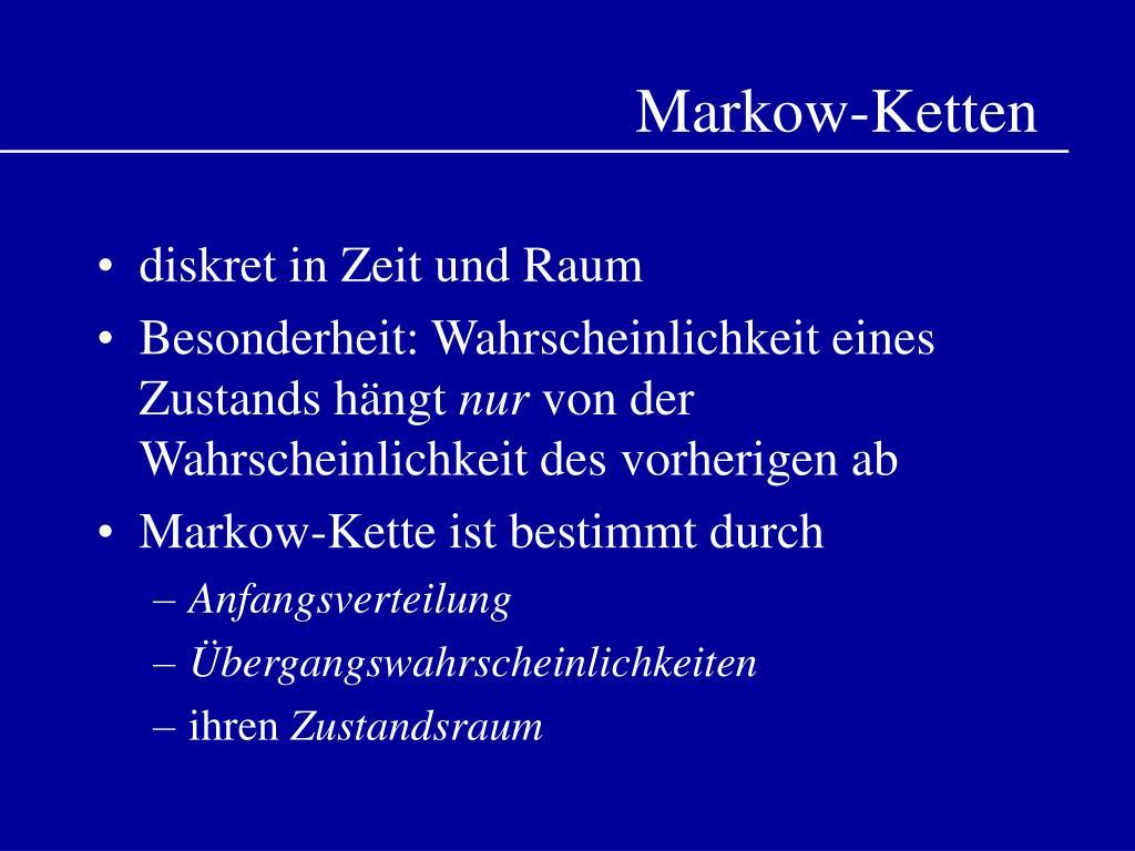 Markow-Ketten
