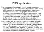 dss application