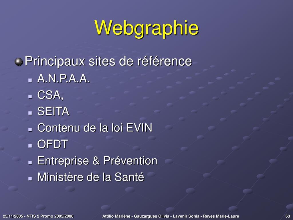 Webgraphie