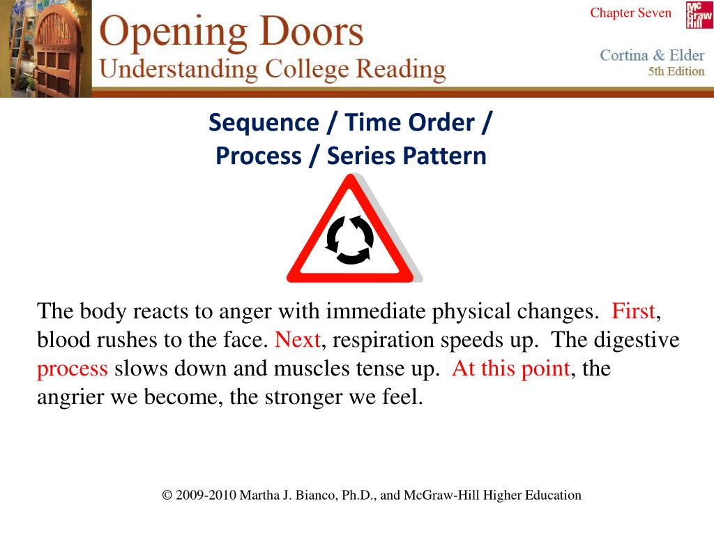 Sequence / Time Order /