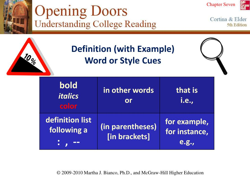 Definition (with Example)