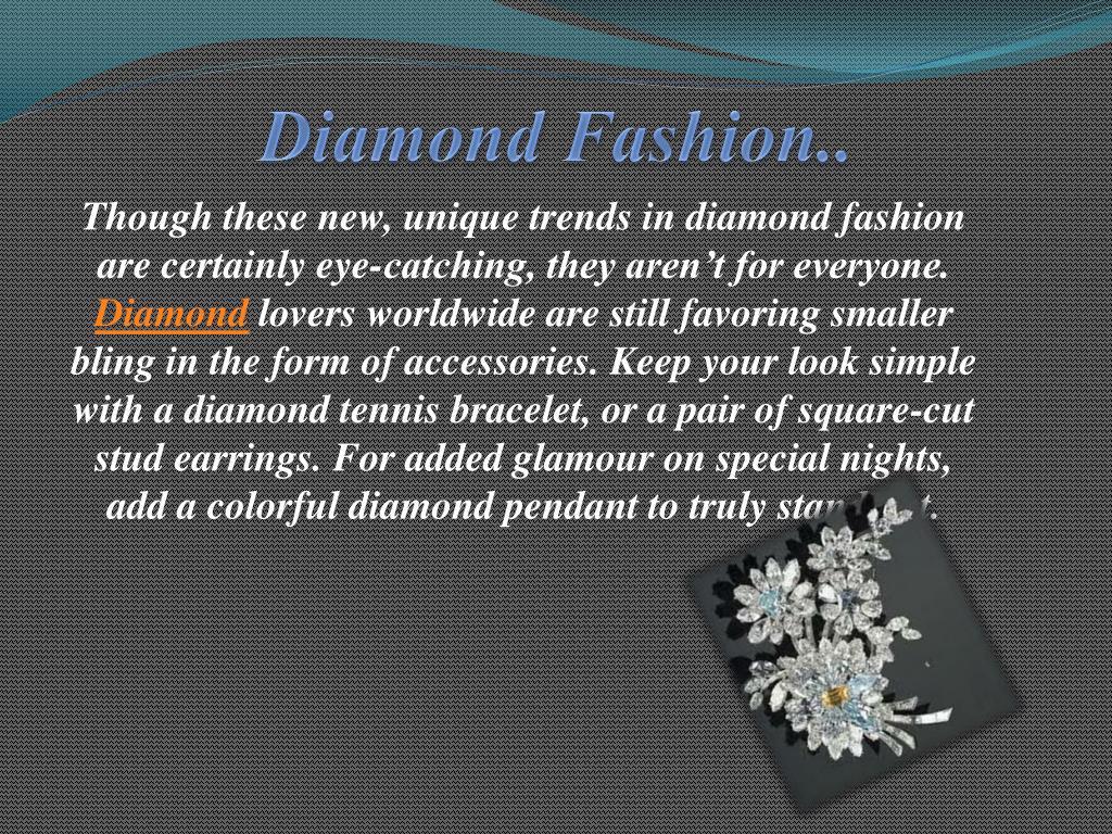 Diamond Fashion..