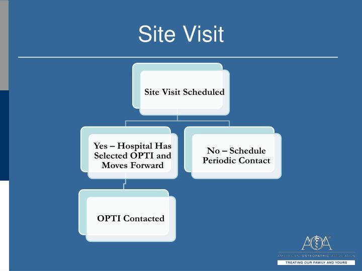 Site Visit