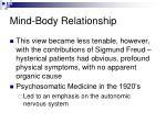 mind body relationship7