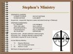 stephen s ministry