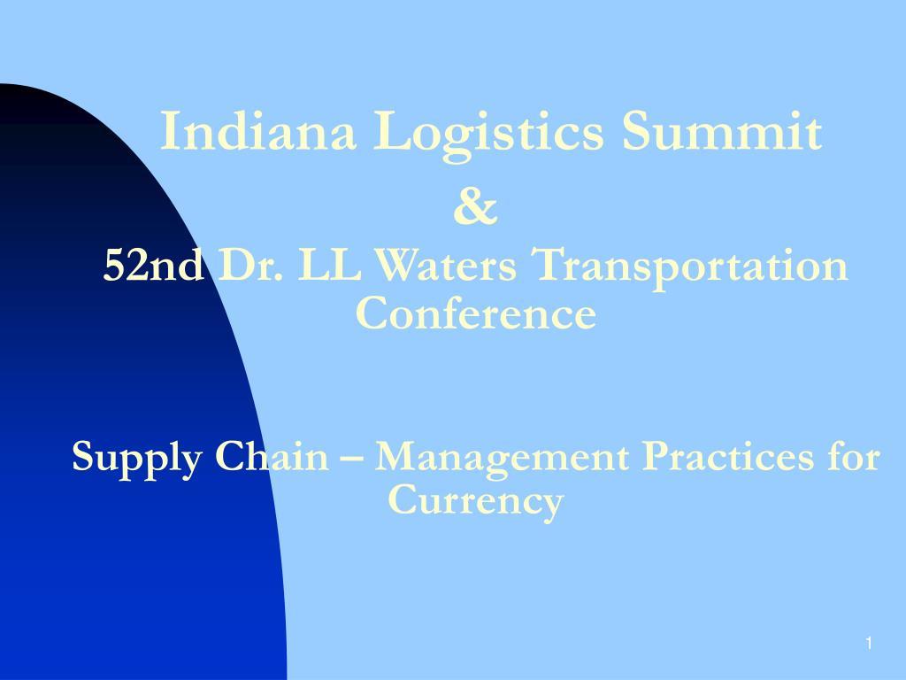 Indiana Logistics Summit