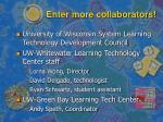 enter more collaborators