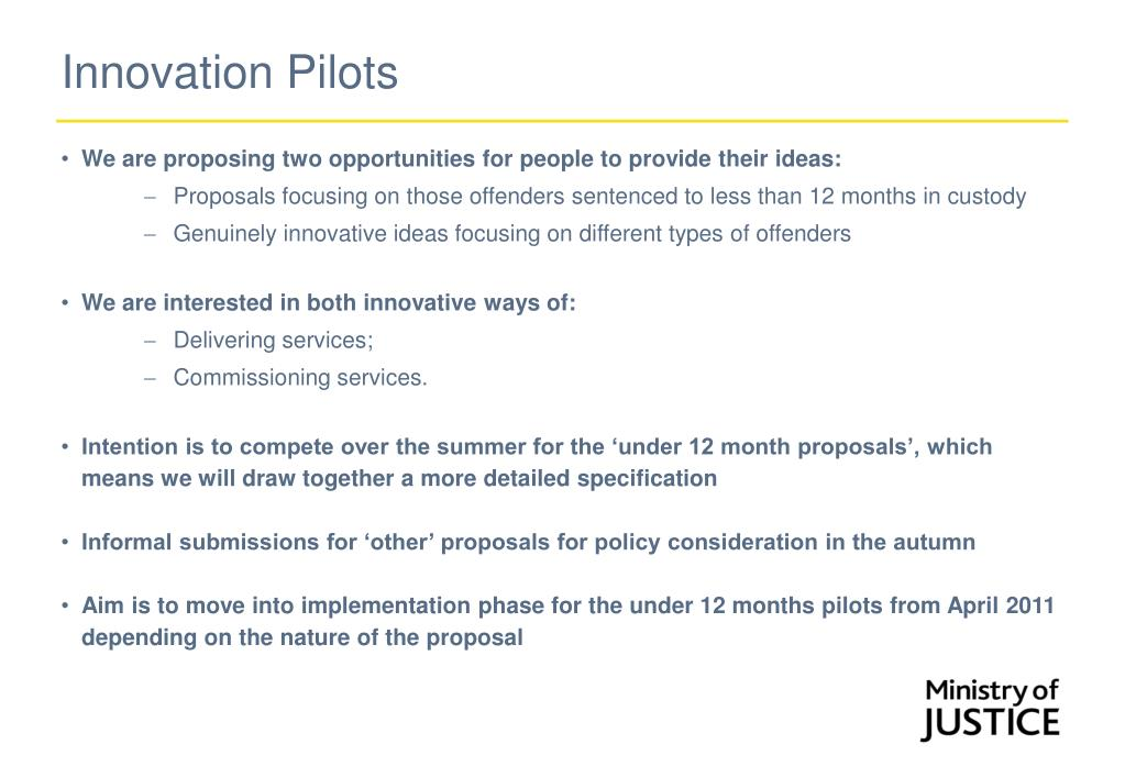 Innovation Pilots