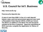 u s council for int l business