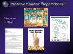 pandemic influenza preparedness36