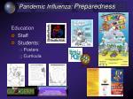 pandemic influenza preparedness38