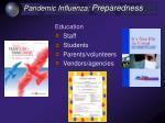 pandemic influenza preparedness39