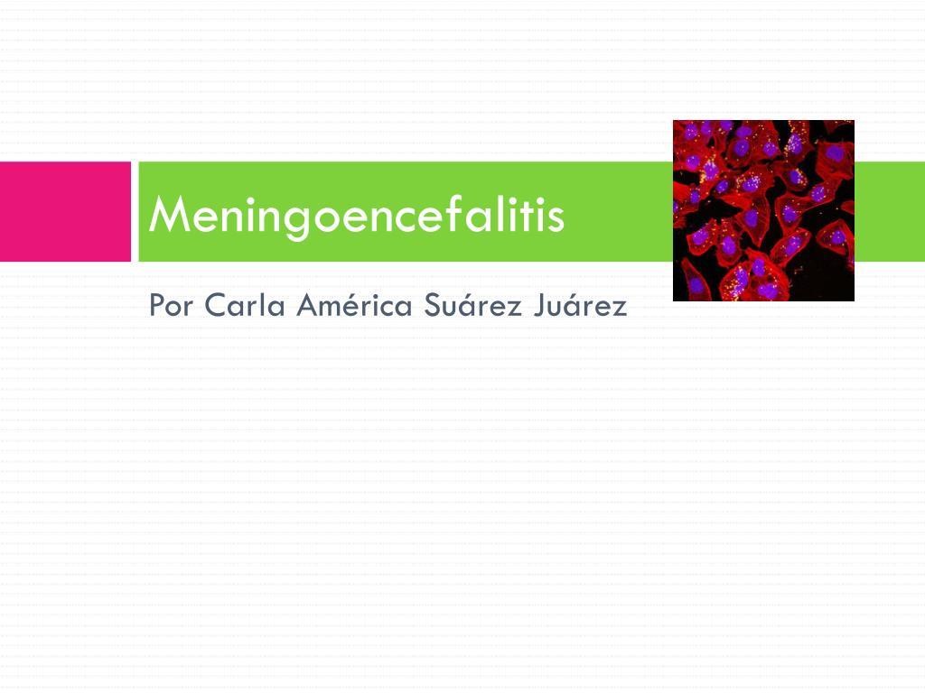 meningoencefalitis l.