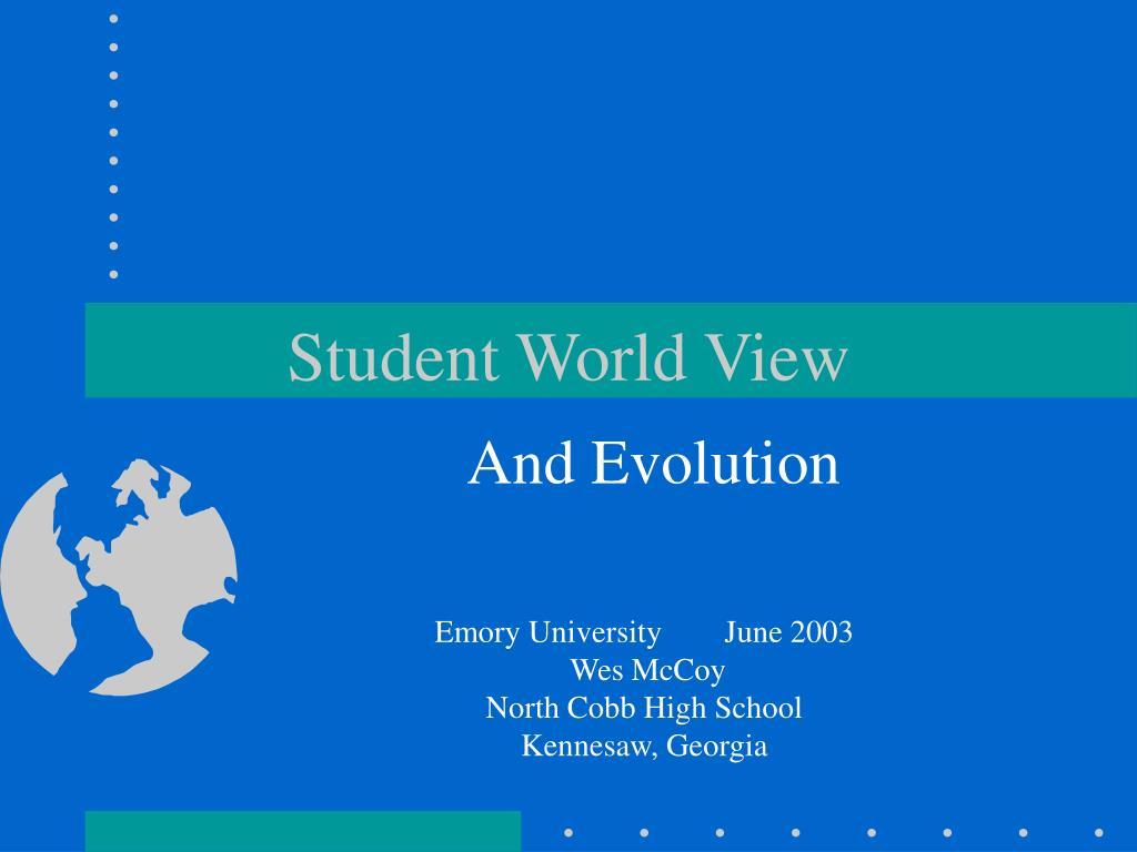 Student World View
