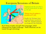 european invasions of britain