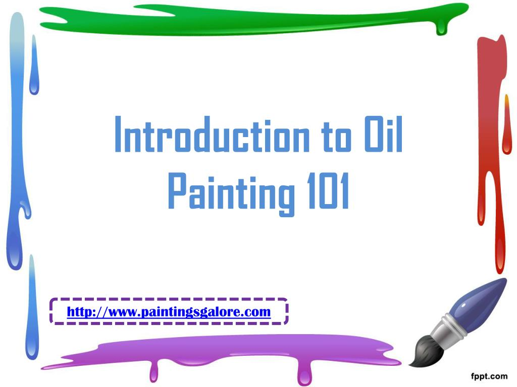 introduction to oil painting 101 l.