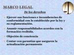 marco legal25