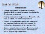 marco legal27