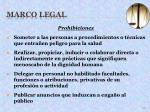marco legal29
