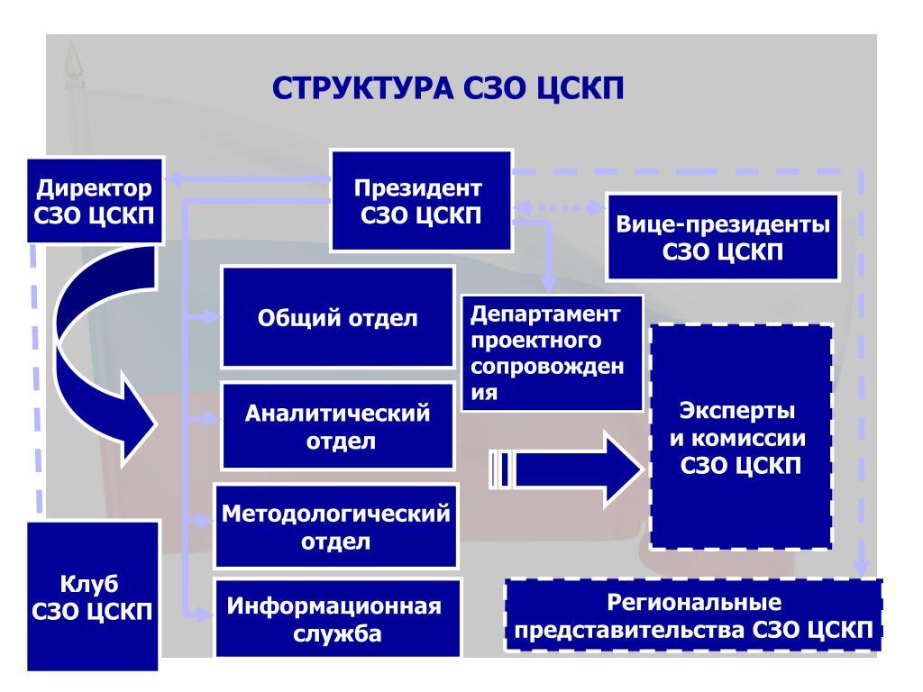 Структура СЗО ЦСКП