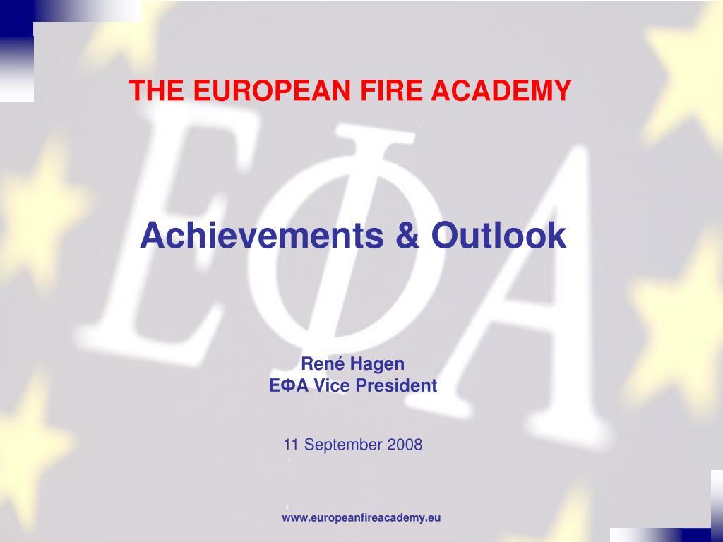 the european fire academy l.