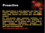 proactivo