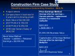 construction firm case study