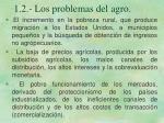 1 2 los problemas del agro